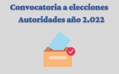 Elecciones año 2021- Cronograma y convocatoria